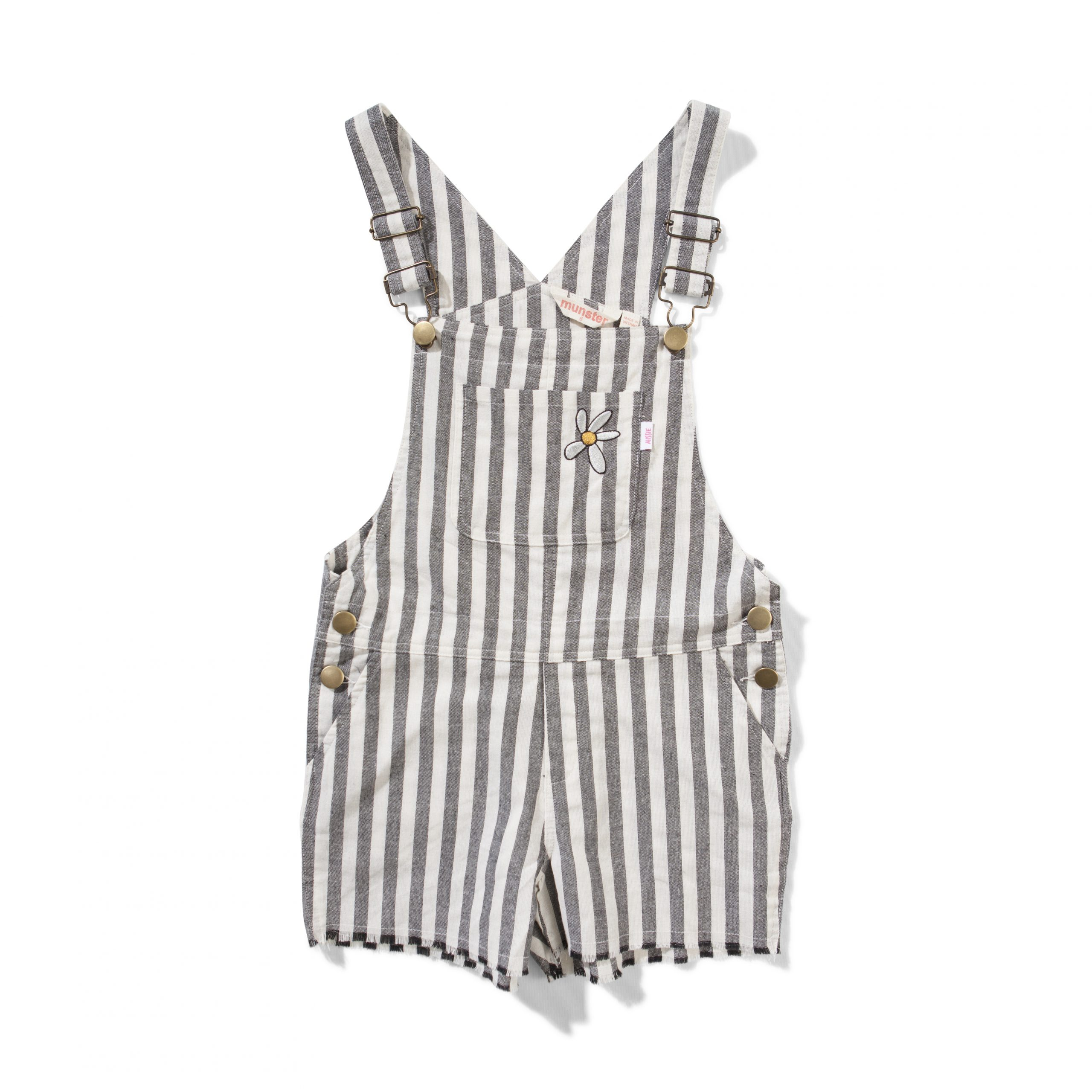 Missie Munster Project Overall (grey stripe)