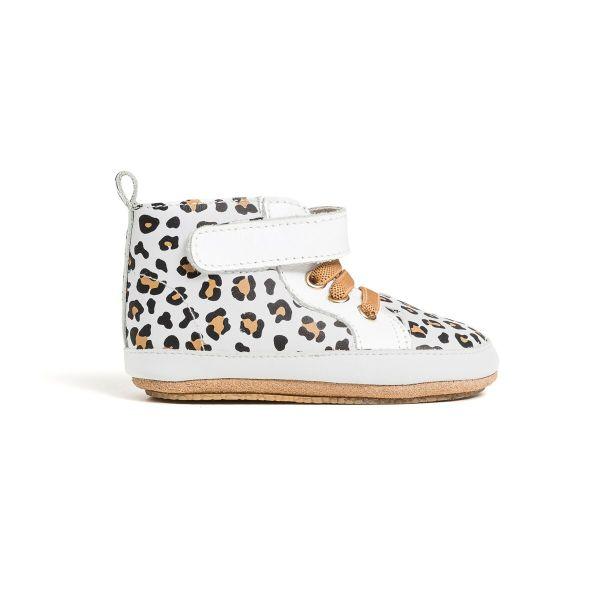 Pretty Brave Hi-Top (white leopard)
