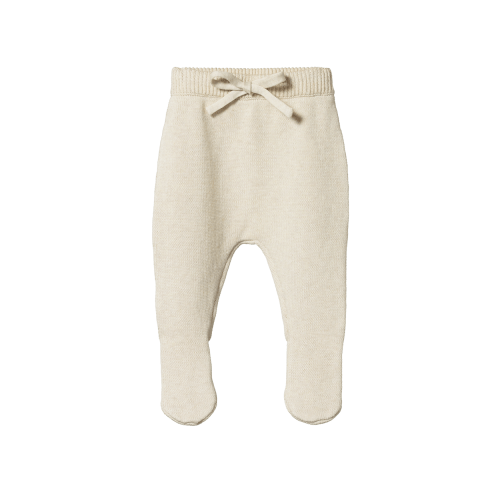 Nature Baby Footed Legging (oatmeal knit)