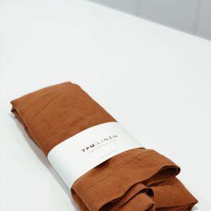 7 Pm Linen Cot Sheet (peony)