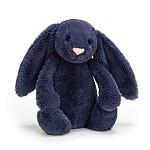 JellyCat Bashful  Navy Bunny Medium