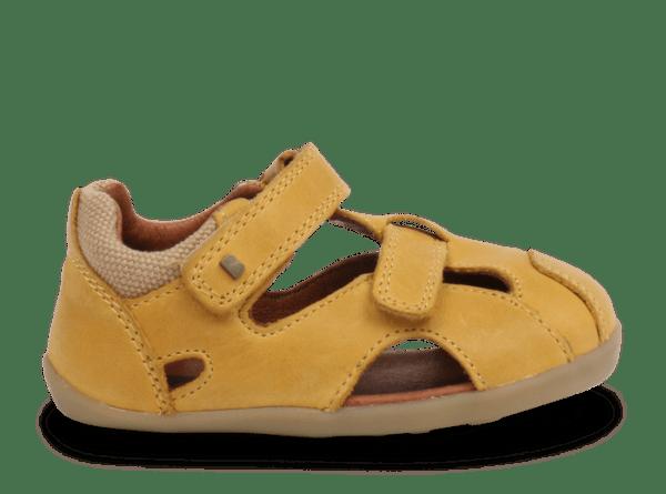 Bobux Step Up Chase sandal (chartreuse)