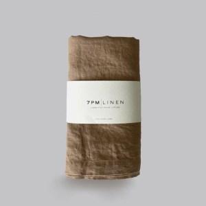 7 Pm Linen Wrap/Swaddle (almond)