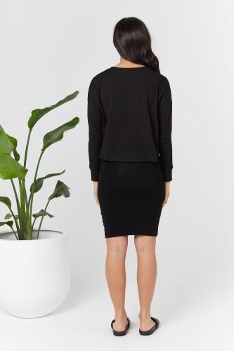 Legoe Heritage Bellevue Skirt (black)