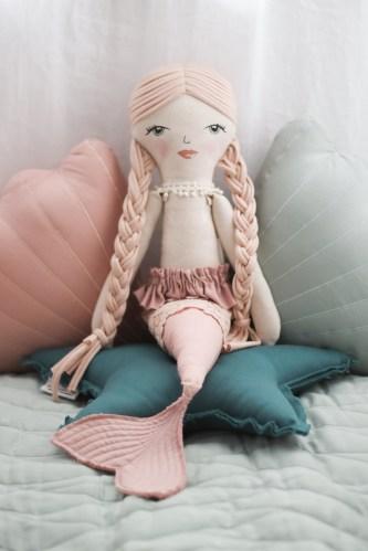 Burrow and Be Mermaid Doll (evie)