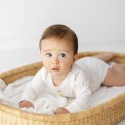 Two Darlings Baby Bodysuit Bamboo L/S  (milk)