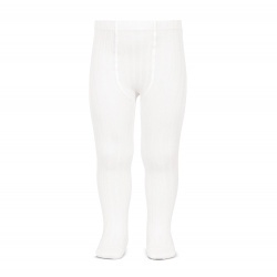 Condor Rib Tights (200) (white)