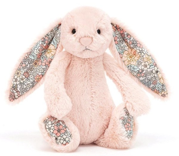 JellyCat Bashful Blush Blossom Bunny Medium