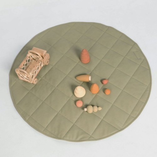 Henlee Quilted Playmat (Sage)