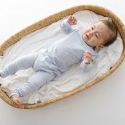 Two Darlings Baby All in One Bamboo (pale blue)