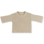 Grown Speckle Rib Pull Over (golden speckle)