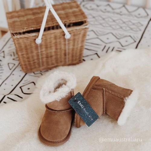 Emu Australia Toddle Ugg Boots (chestnut)