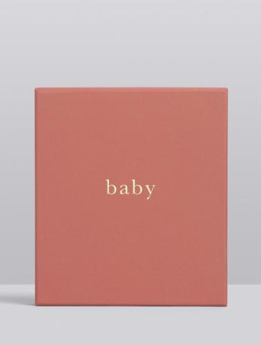 Write to Me Baby Journal - Your First Five Years (blush)