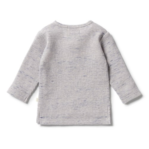 Wilson and Frenchy  Waffle Henley Top