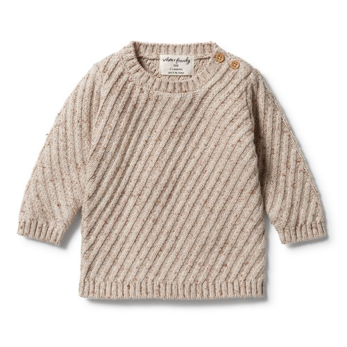 Wilson and Frenchy Knitted Jacquard Jumper