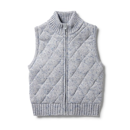 Wilson and Frenchy Knitted Quilted Vest