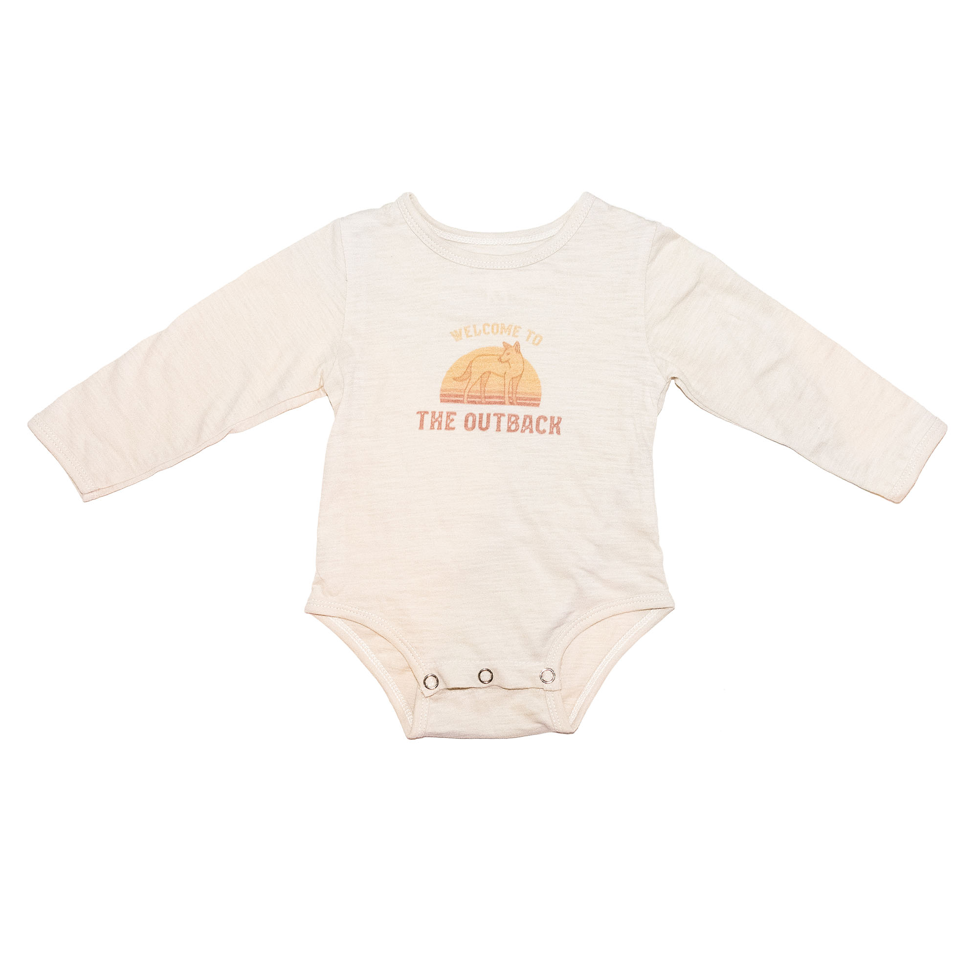 Children of the Tribe Outback Long Sleeve Onesie **Pre Sale