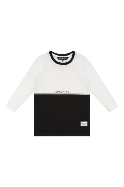 Adam and Yve Split Body Long Sleeve Tee
