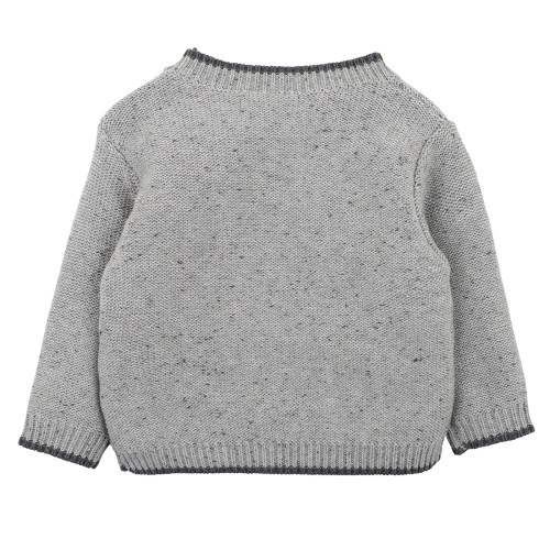 Fox and Finch Boys Cable Knit Jumper (grey)