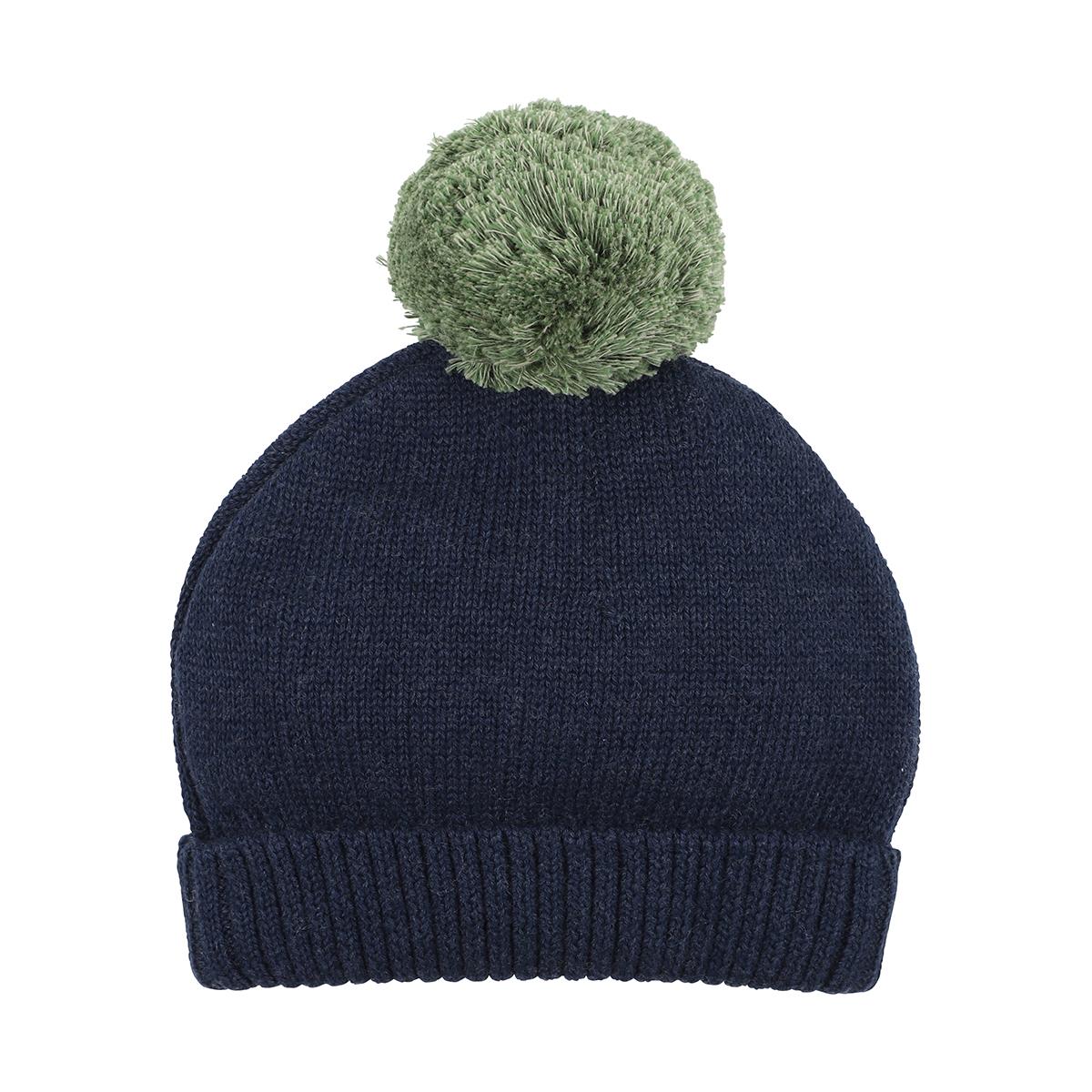 Bebe Callum Knit Beanie (blue)