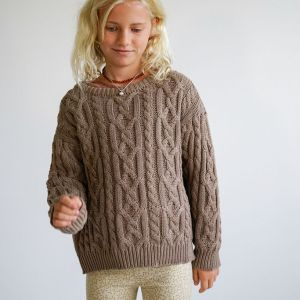 Children of the Tribe Tawny Cable Knit Jumper ** Pre Sale