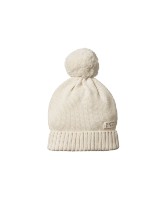 Nature Baby Alpine Pom Pom Beanie (natural)