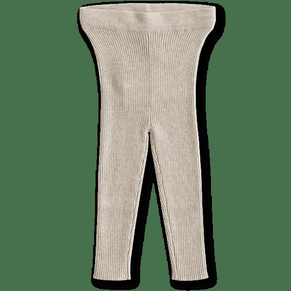 Grown Ribbed Essential Bodysuit (oat marle)