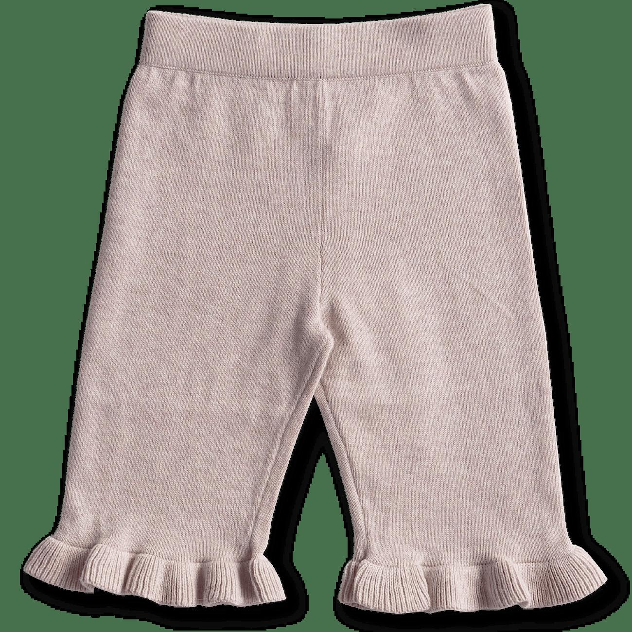 Grown Frill Pant (violet marle)