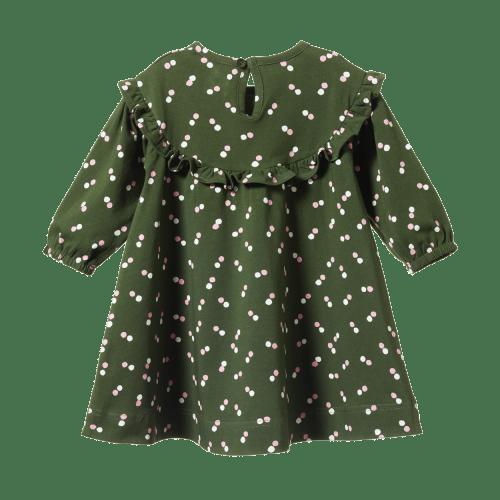 Nature Baby Martha Jersey Dress (snow drop)