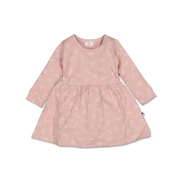 Burrow and Be  L/S  Jersey Dress (flutter)