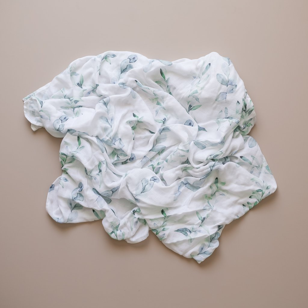 Two Darlings Baby Bamboo Swaddle (fern)