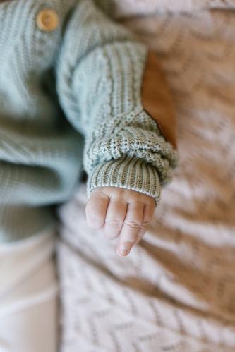 Two Darlings Baby Heirloom Blanket (cashew)