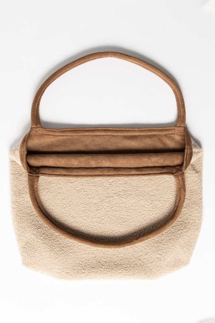 Studio Noos Teddy Lammy Mommy Bag (ecru/brown)