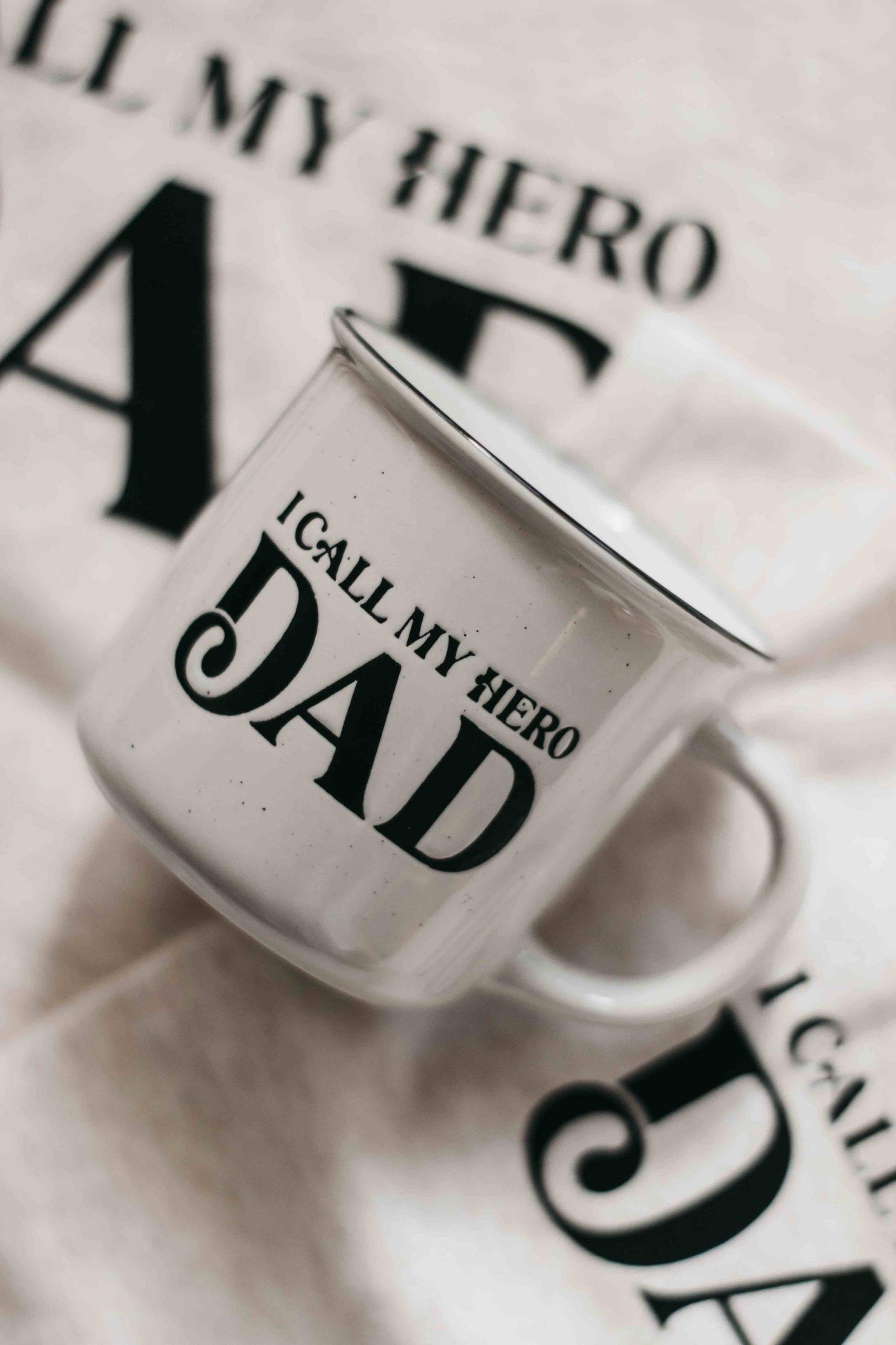 Bencer and Hazelnut Mug (dads my hero)