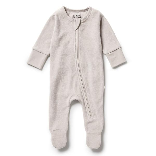 Wilson and Frenchy Organic Terry Zipsuit (clay)