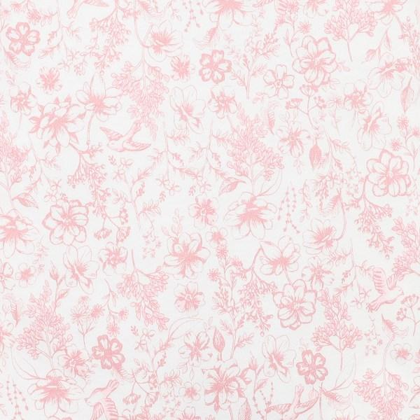 Bebe Amelie S/S Wrap Romper (birdprint)