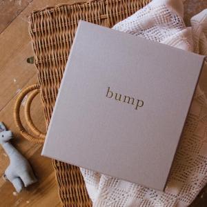Write To Me Bump - A Pregnancy Journal (light grey)