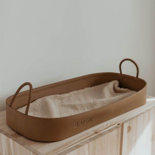 Baisik Change Basket (tan) **PRE - ORDER