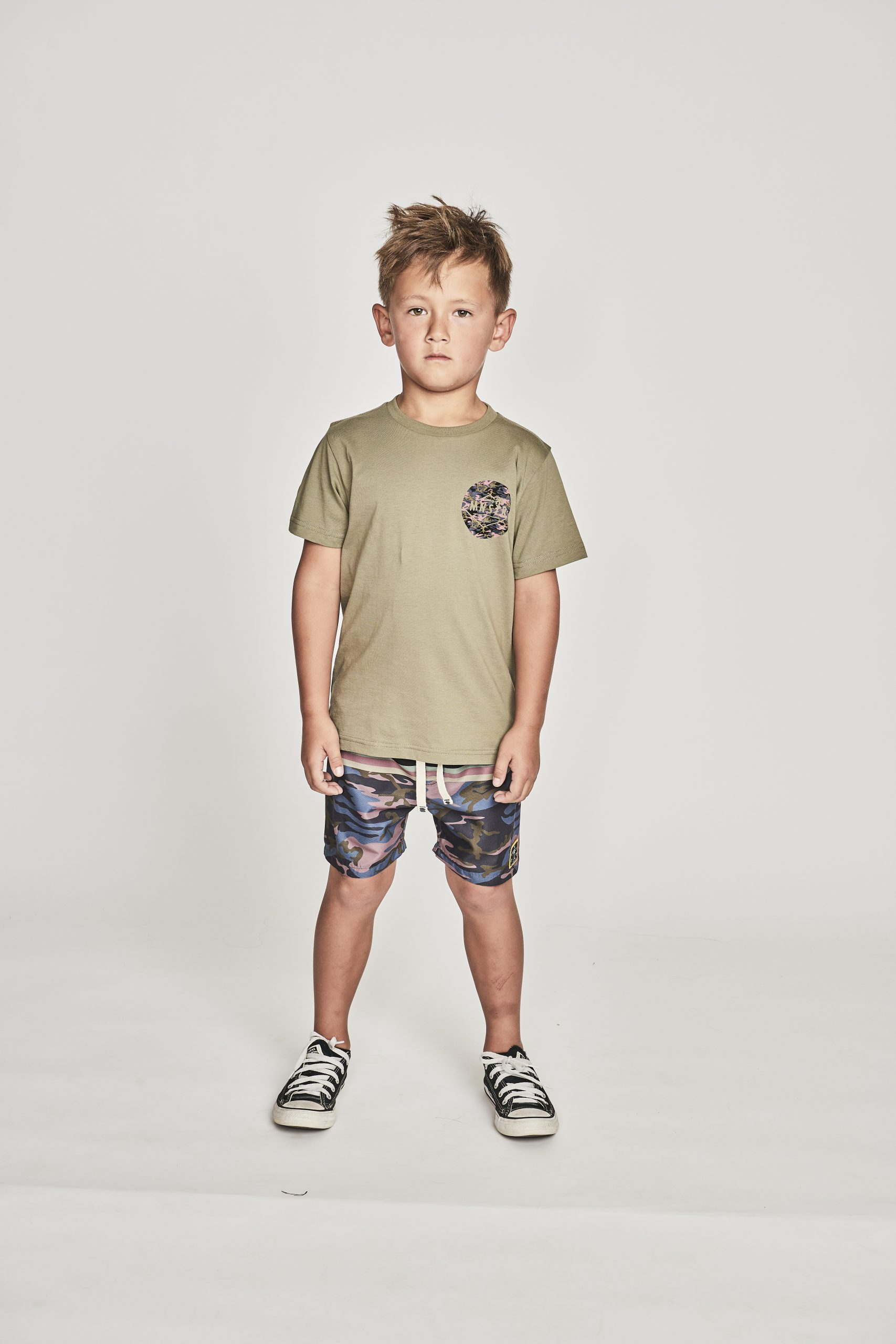 Munster Supply Co Tee (olive)