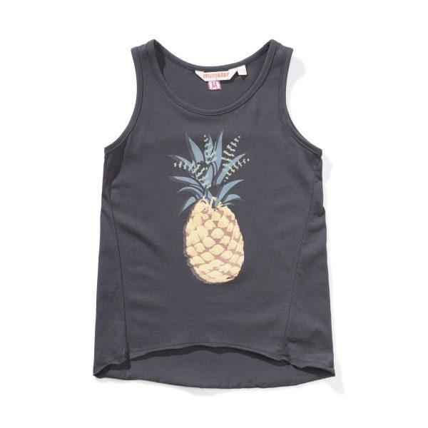 Missie Munster Pineapple Tank (soft black)