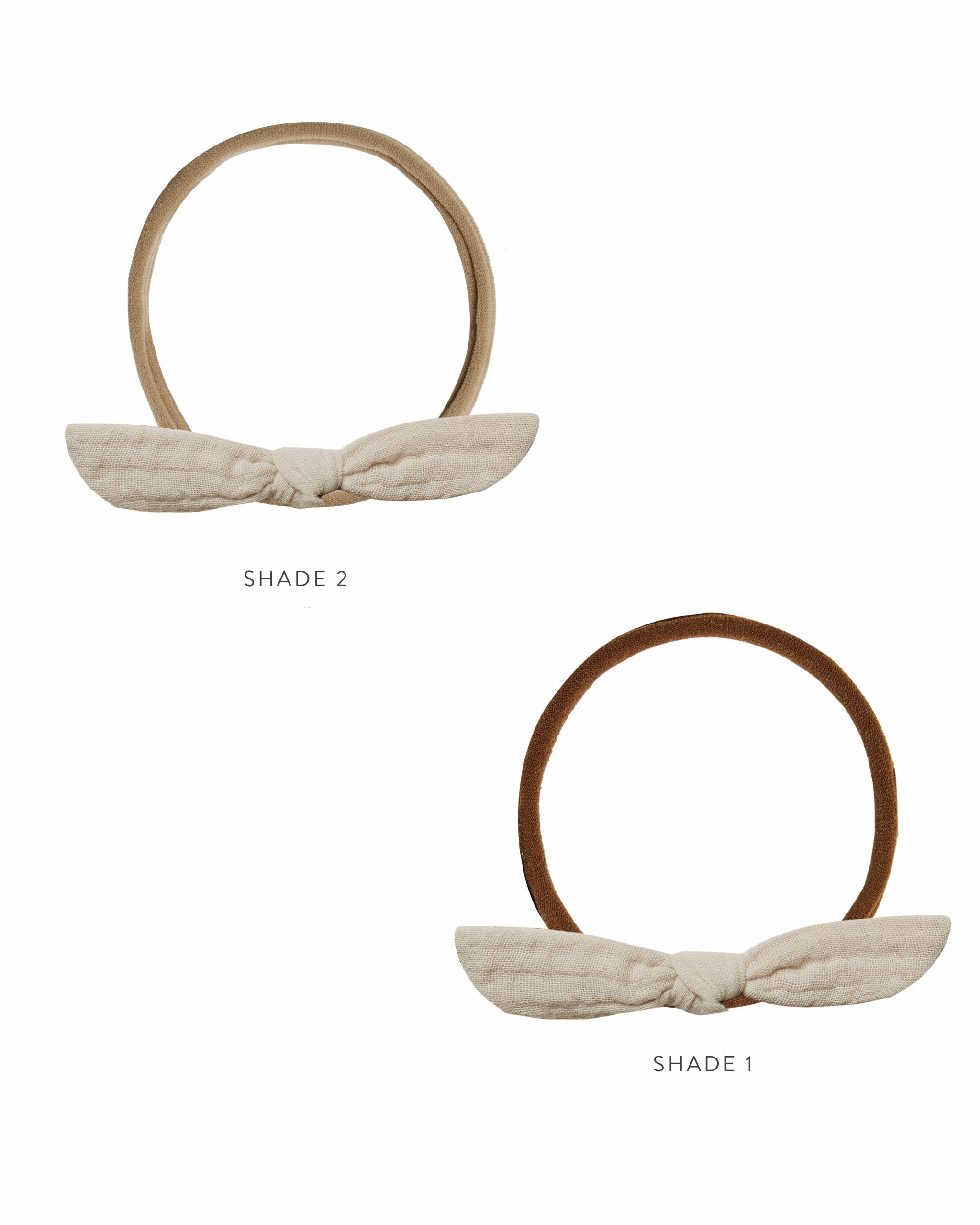 Rylee and Cru Little Knot Headband (stone)**Pre Order