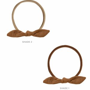 Rylee and Cru Little Knot Headband (rust)**Pre Order
