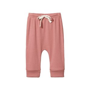 Nature Baby Cotton Drawstring Pants (cork)