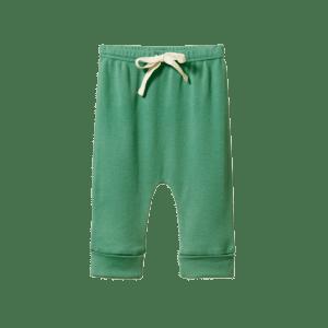 Nature Baby Cotton Drawstring Pants (isle green)
