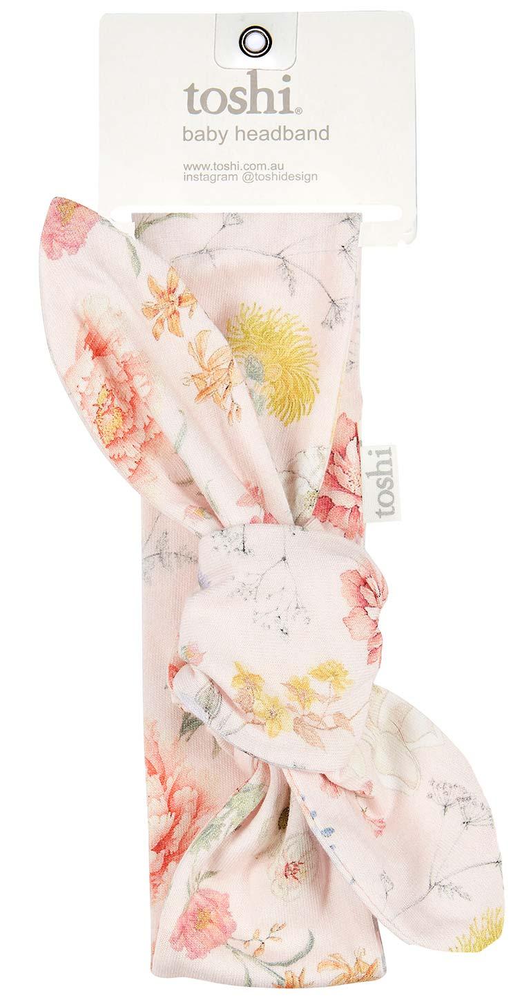 Toshi Headband Secret Garden (blush)