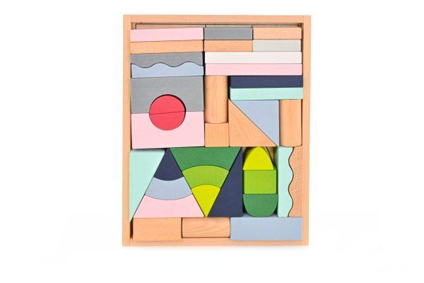 Everearth Stylish Building Blocks (37 piece)