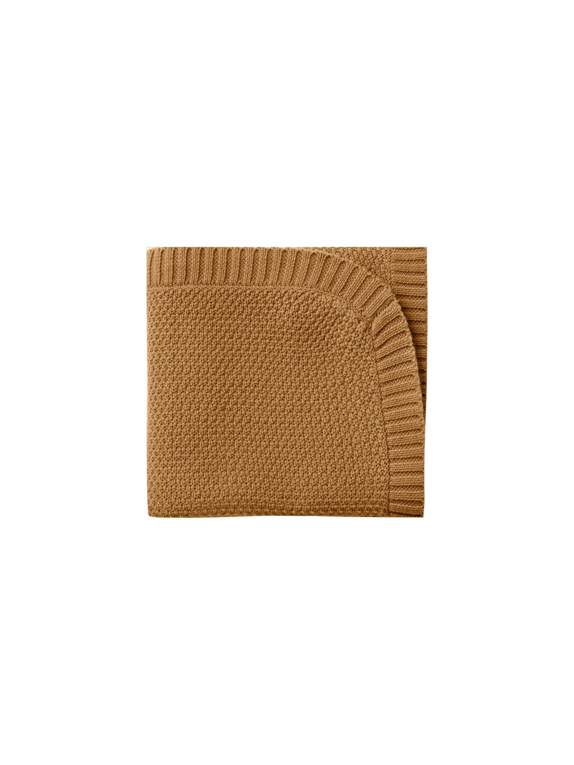 Quincy Mae Chunky Knit Baby Blanket (walnut)**PRE ORDER
