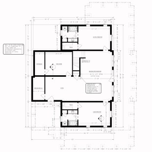 Rosman's Modified Jocassee V First Floor