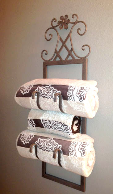 From Wine Rack To Towel Holder Love My Diy Home