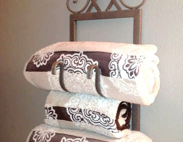 From Wine Rack to Towel Holder